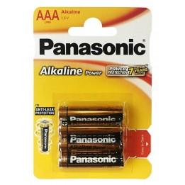 Alkáli elem AA 4 darab/szett Panasonic
