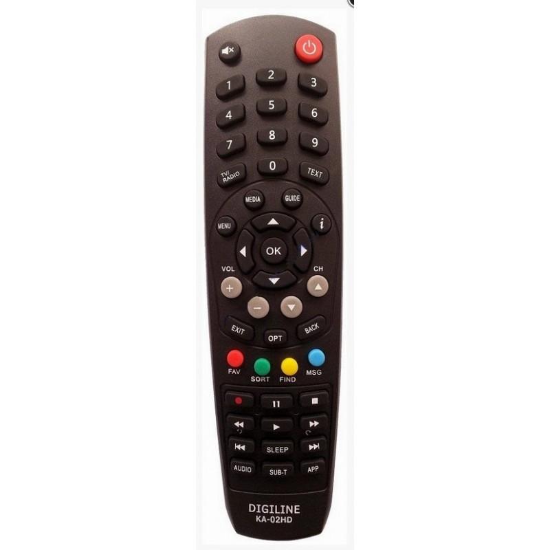TÁVIRÁNYÍTÓ DIGI TV KAON KA-02HD BELTÉRI EGYSÉG